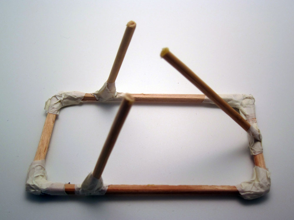 How to build a catapult: building your structure